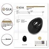 Black Obsidian Yoni Egg by Jade Yoni Egg - GIA