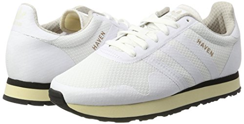 chaussures Blanc Hommes Sneakers Adidas Chaussures Haven Noir Pour White 7vXqY