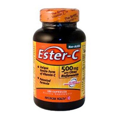 American Health Ester C 500mg Ctrs Bioflvnds