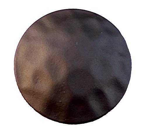 1 3/4 inch Diameter Clavos, 10 Pack of Premium Large Decorative Nails, Matte Bronze Powder Coat Finish