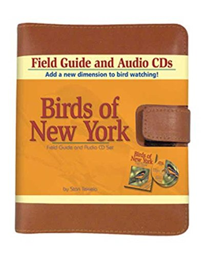 Birds of New York Field Guide and Audio CDs Leather Set (Bird Identification Guides)