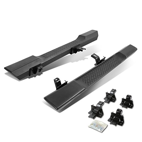For Jeep Wrangler JK 2-Door Pair of OE Style Side Step Nerf Bar Running Board - Sport 2dr Step