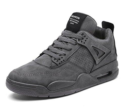 boots Homme gris Sneakers Cheville D Classiques Hautes et Bottes a0qYT