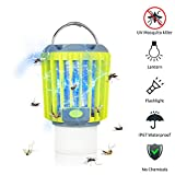 LED Camping Lantern - ERAVSOW Bug Zapper & LED Camping Lantern & Flashlight 3-in-1, Waterproof Rechargeable Mosquito Killer, Portable Compact Camping Gear for Outdoors