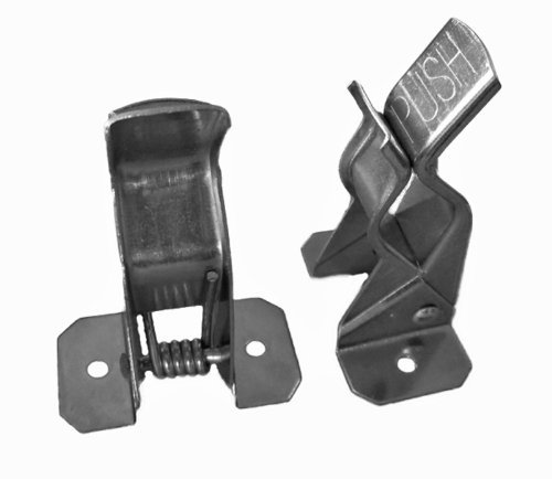 Black Duck Brand Metal Spring Grip Clamps, Broom and Garden Organizer Tool Rack (20 Count) by Black Duck Brand (Image #1)