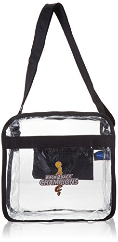 Littlearth NBA Cleveland Cavaliers Clear Carryall Crossbody Purse by Littlearth