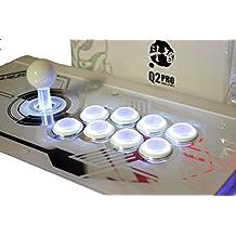 QANBA Q2 PRO LED White PS3/PC Arcade Joystick (fightstick)