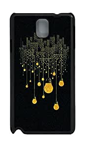 Samsung Note 3 Case City Lights PC Custom Samsung Note 3 Case Cover Black