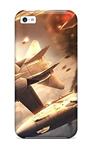 New Style Case Cover ZFhwZeR13431zHuJE Ace Combat Compatible With Iphone 5c Protection Case