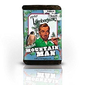 Filthy Lumberjack Mountain Man Handmade Soap