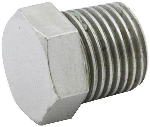 Allstar ALL50183 3/16 NPT Inverted Flare Plug Brake Line Adapter Fitting, (Pack of 4) by Allstar