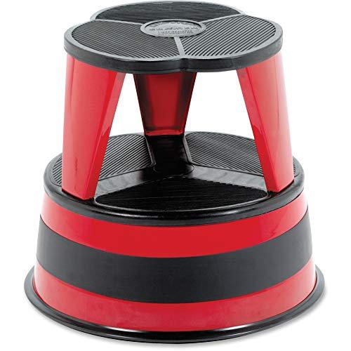 (Cramer Original All-Steel Kik-Step Stool, Red)