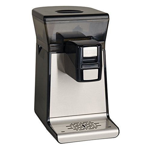 BUNN My Cafe MCR Single Serve Cartridge Commercial Pourover Brewer, Black
