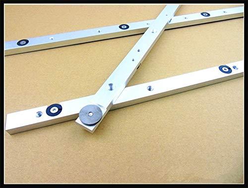 QUAROS 1PC Aluminium Alloy Miter Bar Miter Slider Table Saw Miter Gauge Rod 300mm 450mm 650mm HT1100-1102 - (Color: Length 300mm) -