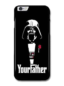 Darth Vader Star Wars Black Illustration Your Father The Godfather case for iPhone 6 Plus by Maris's Diary