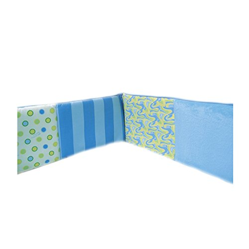 Trend Lab Dr. Seuss, Crib Bumpers, Oh The Places You'll Go, Blue]()