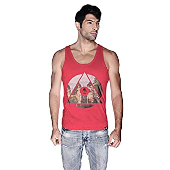 Creo China Mountain Tank Top For Men - L, Pink