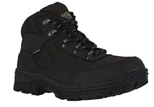 Northwest Territory-chaussures en cuir pour femme Marron - Marr
