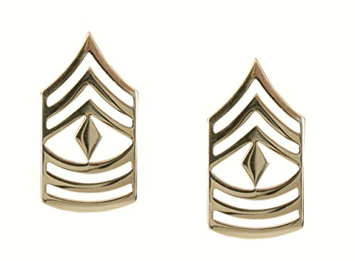 Rothco First Sergeant Polished Insignia ()