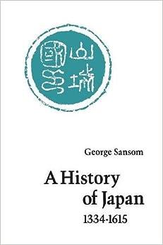 Descargar Epub Gratis A History Of Japan, 1334-1615