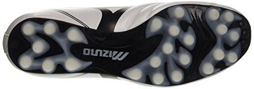 Mizuno Morelia Neo Cl 24, Botas de Fútbol para Niños, Black/White Bianco (White/Black)