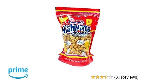 De La Rosa Nishiyama Japanese Coctail Peanuts: Amazon.com: Grocery & Gourmet Food