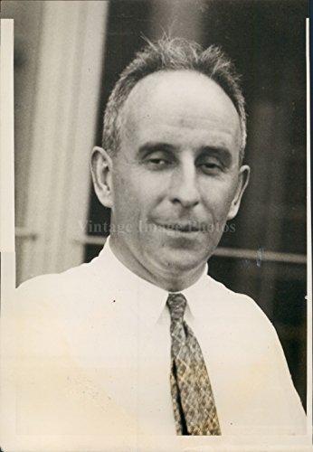 1928 John Raskob Financial Chairman General Motors Campaign Press Photo