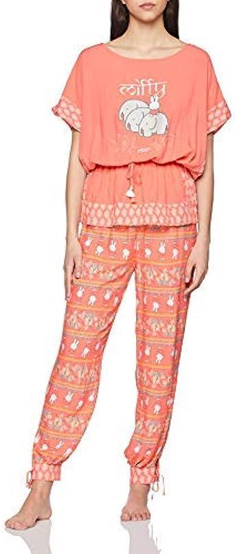 womensecret Mh MF Travel PJ FR Conjuntos de Pijama para Mujer