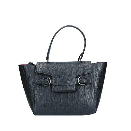 LE PANDORINE Selfie Bag small embossed black AI16SAB00301-03