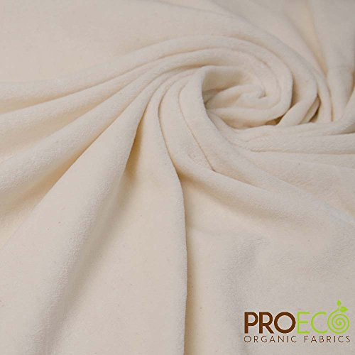 Ready-AbZORB ProECO Bamboo Velour Fabric (Made in USA, Natural, sold by the yard)