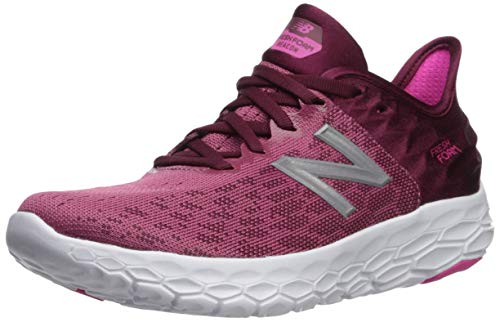 New Balance Women's Beacon V2 Fresh Foam Running Shoe, Dragon Fruit/Sedona, 7.5 W US