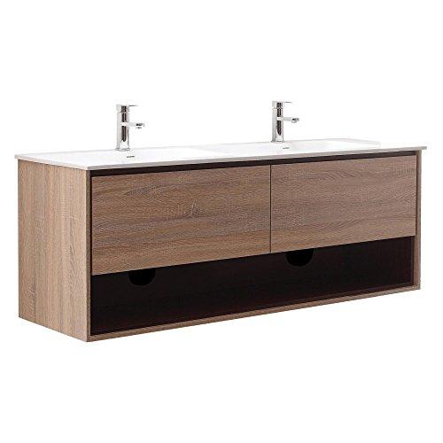 Avanity Sonoma 63 in. Vanity Combo in Restored Khaki Wood ()