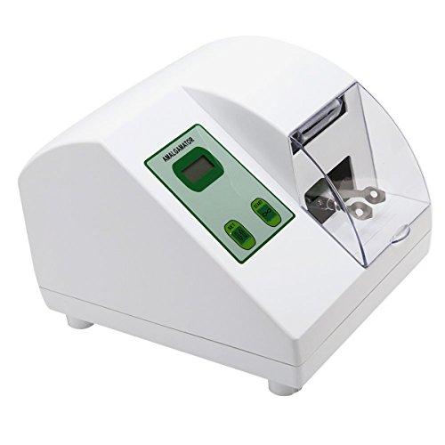 (Dental High Speed Amalgamator Mxer Amalgam Capsule Mixer Adjustable Speed 110V)