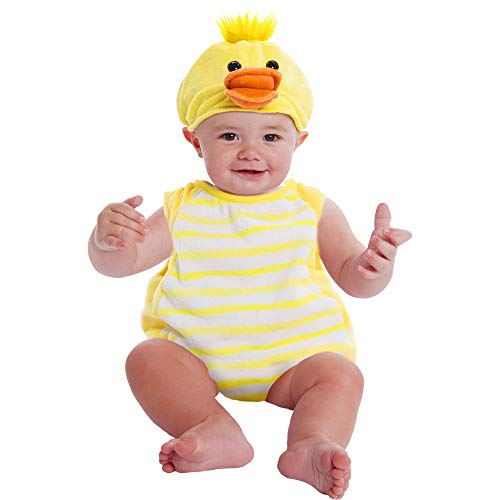 Plush Bubble Baby Duck Baby Costume 0-9 Months -