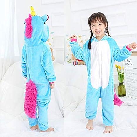 Pijama Unicornio Azul Niños Stitch Leopar Pijama Animal Ropa ...