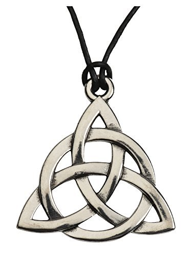 Charmed Inspired Celtic Knot Triquetra Necklace - Costume Accessory