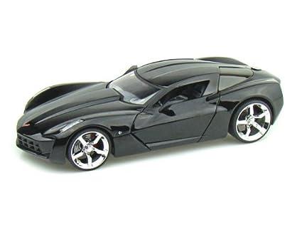 Amazon Jada 2009 Corvette Stingray Concept Bigtime Muscle 124