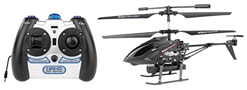 World Tech Toys Gyro Metal Nano Spy Copter - Rc Helicopter From Amazon