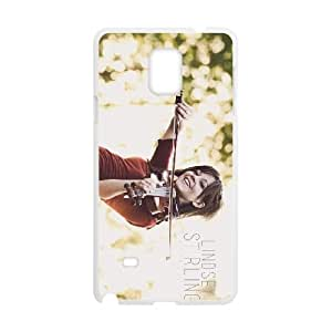 lindsey stirling Samsung Galaxy Note 4 Cell Phone Case White NGTS6245336338081