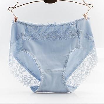 Rey&Qing Cintura Transpirable 100% Ropa Interior De Algodón, Encaje Perfecto Paquete Abdomen Cadera,