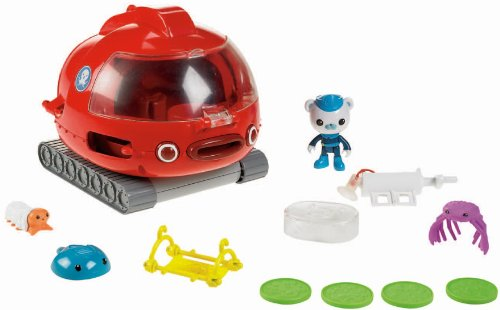 Fisher-Price Octonauts Launch and Rescue Gup X Vehicle -