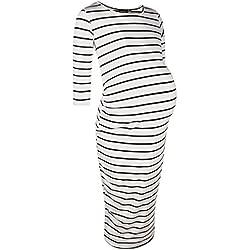 Boohoo Womens Maternity Midi Dress