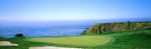 Pebble Beach Golf Course, Monterey County, California by Panoramic Images Art Print, 34 x 11 inches from Great Art Now