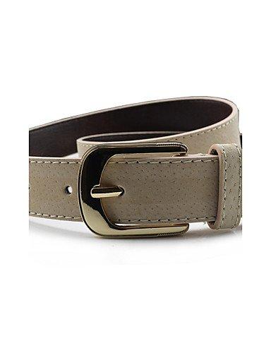HAN-NMC Lady Belt Fashion Needle Buckle Khaki