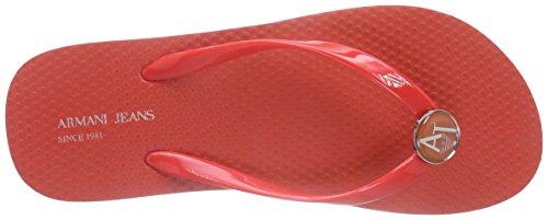 Armani C55f132 - Sandalias Mujer Rojo - Rot (ROSSO - RED 4Q)