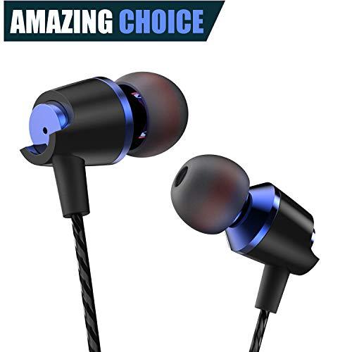 Earbuds Ear Buds in Ear Headphones Wired Earphones with Micr