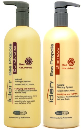 Iden Bee Nourished Shampoo & Conditioner 32oz Duo Pack