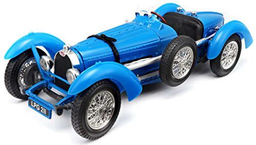 Bburago 1934 Bugatti Type 59 Blue 1/18 Diecast Model Car