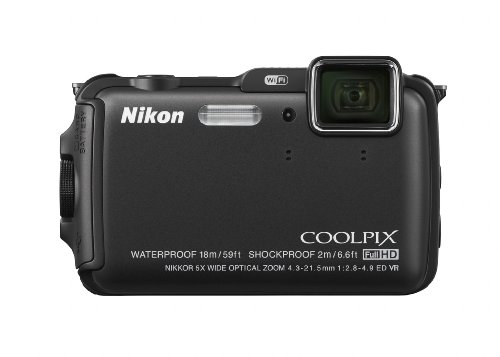 Nikon COOLPIX AW120 16.1 MP Wi-Fi and Waterproof Digital Cam