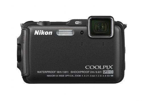 Nikon COOLPIX AW120 16.1 MP Wi-Fi and Waterproof Digital Cam